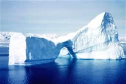 Un iceberg nel Mare Antartico