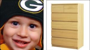 Guarda la versione ingrandita di Ikea, cassettiera Malm uccide un altro bimbo: è il terzo