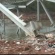 Ponte giù con 600 kg di esplosivo: VIDEO slow motion2