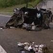 Incidente sulla A39, morto papà e 2 bambini FOTO-VIDEO