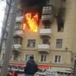 Incendio a Mosca, donna divorata dalle fiamme 3