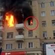 Incendio a Mosca, donna divorata dalle fiamme 4