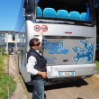 Bus studenti tampona bisarca su A1: cinque feriti lievi0