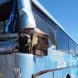 Bus studenti tampona bisarca su A1: cinque feriti lievi4