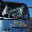 Bus studenti tampona bisarca su A1: cinque feriti lievi17