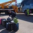 Bus studenti tampona bisarca su A1: cinque feriti lievi15