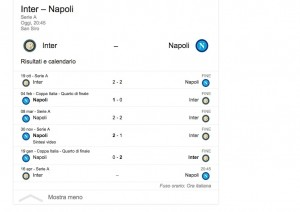 Inter-Napoli streaming diretta tv dove vedere Serie A_10