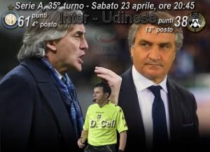 Inter-Udinese, diretta. Formazioni ufficiali e video gol