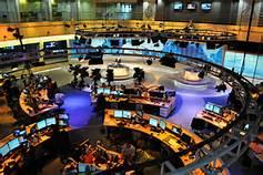 La redazione centrale di Al Jazeera