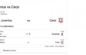 Juventus-Carpi, streaming e diretta tv: dove vedere Serie A