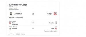 Guarda la versione ingrandita di Juventus-Carpi, streaming-diretta tv: dove vedere Serie A