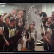 Juventus festa scudetto 2016 spogliatoio video_1