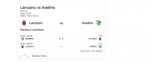 Lanciano-Avellino, streaming-diretta tv: dove vedere Serie B