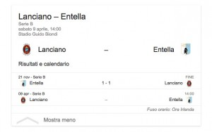 Guarda la versione ingrandita di Lanciano-Entella, streaming-diretta tv: dove vedere Serie B