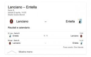 Lanciano-Entella, streaming-diretta tv: dove vedere Serie B