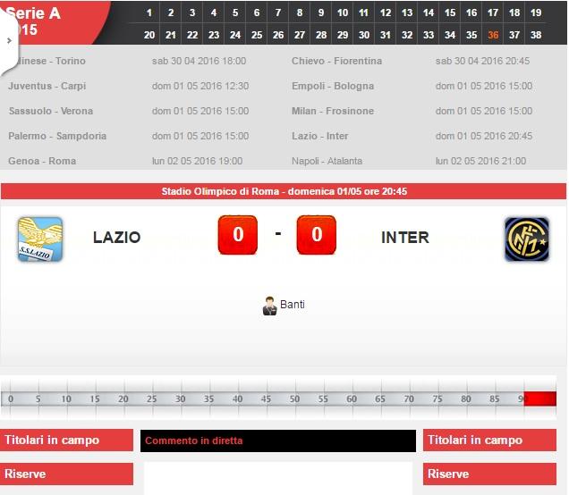 inter lazio streaming live diretta sportlive - photo#40