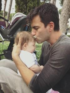 Kledi Kadiu papà: eccolo con la piccola Lea