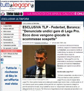 Lega Pro, 11 gare sospette. Federbet denuncia: scommesse...