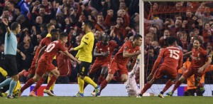 YOUTUBE Liverpool-Borussia Dortmund 4-3: gol e highlights