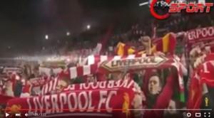 YOUTUBE You'll never walk alone dopo Liverpool-Borussia 4-3