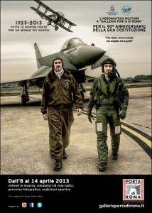 Aeronautica Militare, velivoli in mostra per 90 anni a Roma