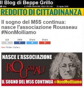 """M5S, addio sito beppegrillo.it: ecco il """"Blog delle Stelle"""""""