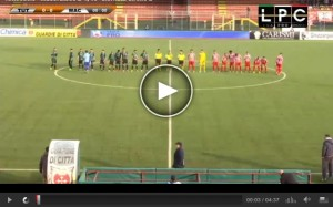 Maceratese-Tuttocuoio Sportube: streaming diretta live