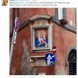 Madonna, volto popstar al posto della Vergine a Roma FOTO3