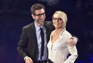 Maria De Filippi e Fabio Fazio
