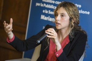 Guarda la versione ingrandita di Marianna Madia, ministro della Pubblica amministrazione - Foto Roberto Monaldo / LaPresse
