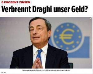 Draghi: la Bce lavora per l'Europa, non per la Germania
