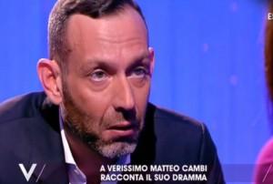 Matteo Cambi: in astinenza grattavo muri pensando fosse coca