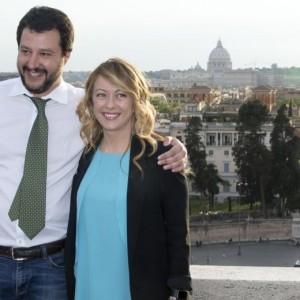 """Roma, Salvini a Berlusconi: """"Meloni la nostra candidata"""""""