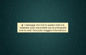 Whatsapp, messaggio giallo. Cosa vuol dire, cosa cambia