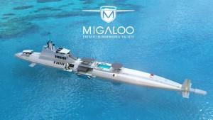 Yacht sommergibile per super ricchi: 2,3 miliardi di dollari