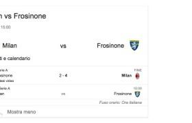 Milan-Frosinone, streaming e diretta tv: dove vedere Serie A