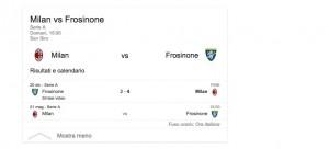 Milan-Frosinone, streaming-diretta tv: dove vedere Serie A