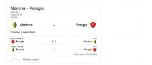 Modena-Perugia, streaming-diretta tv: dove vedere Serie B