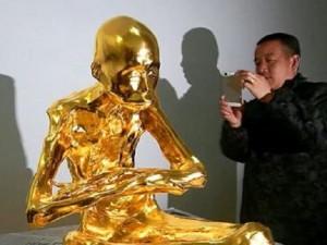 YOUTUBE Mummia del monaco buddista ricoperta d'oro