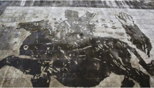 Murales: William Kentridge vede Roma da Mussolini a...FOTO