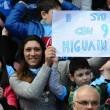 Napoli-Verona Higuain striscioni_1