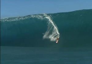 YouTube. Surf, Niccolò Porcella: sua caduta dell' anno