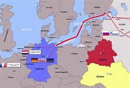 Il percorso del Nord Stream eram2