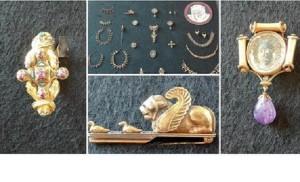 Guarda la versione ingrandita di Roma Villa Giulia: gioielli rubati recuperati da carabinieri (Foto Ansa)