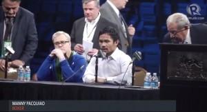 Guarda la versione ingrandita di Manny Pacquiao aggredito a Los Angeles al grido di