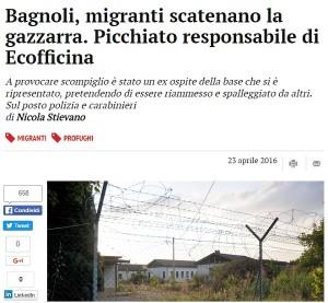 Padova, rissa al centro di accoglienza: picchiato responsabile