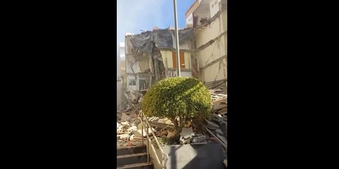 YOUTUBE Tenerife, crolla palazzo. Morti-dispersi. Italiani?9
