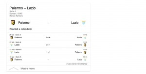 Palermo-Lazio, streaming-diretta tv: dove vedere Serie A