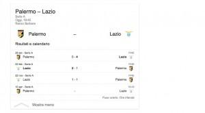 Palermo-Lazio, diretta. Formazioni ufficiali in arrivo