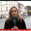Sky Tg24 Giovanna Pancheri aggredita a Molenbeek VIDEO 2